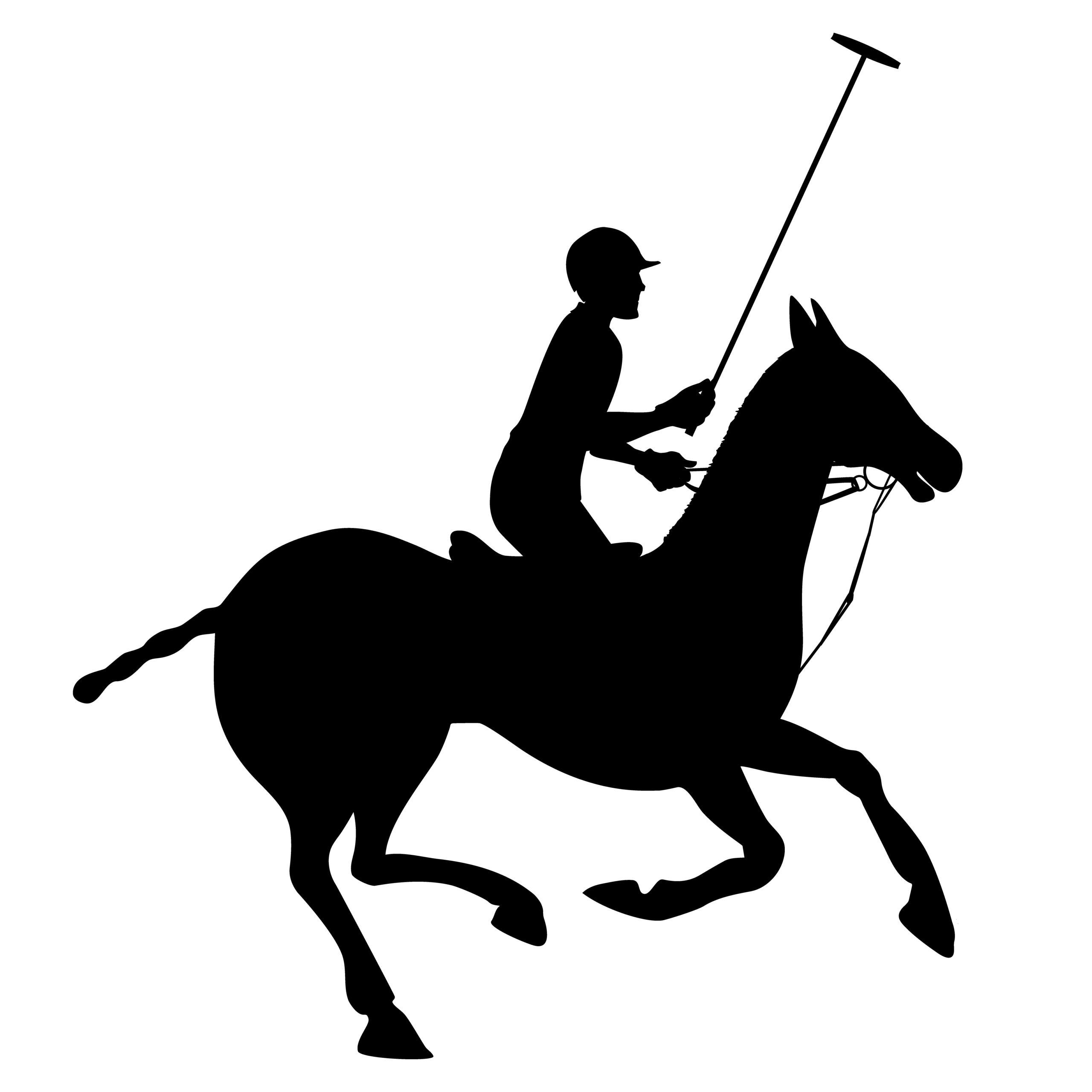 Naklejka na ścianę dżokej koń