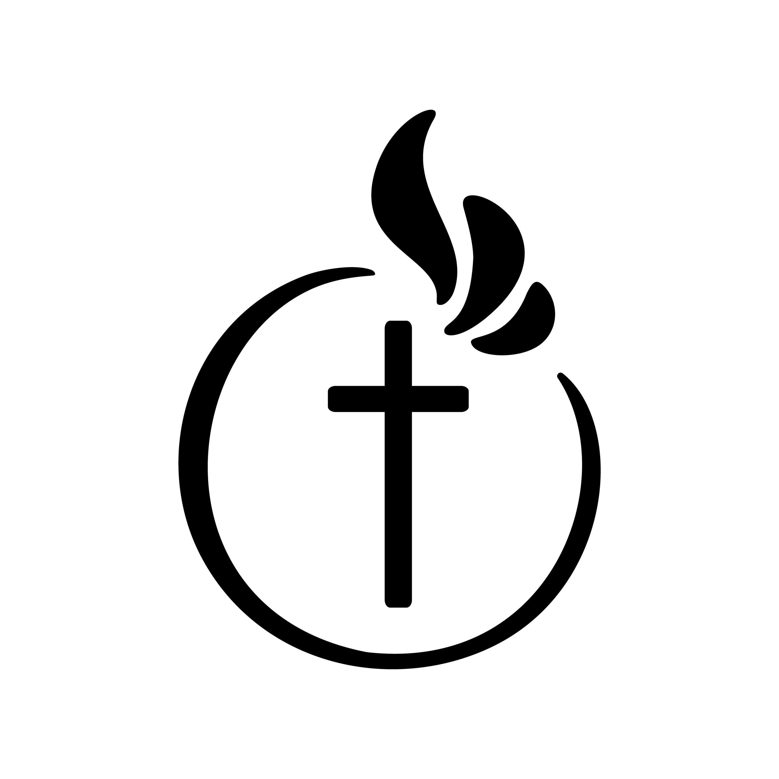 Naklejka na ścianę krzyż wiara bóg