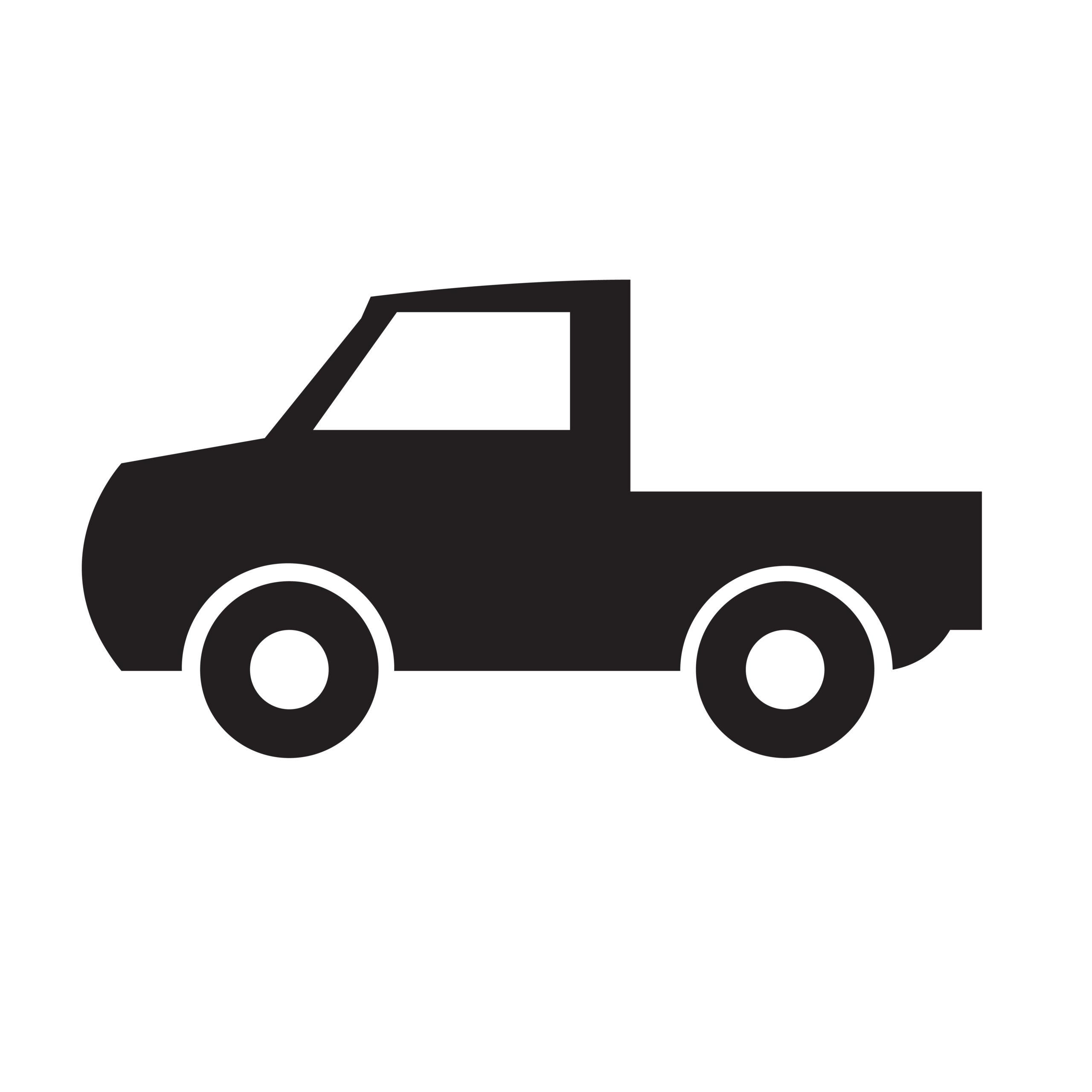 Naklejka na ścianę auto dostawcze