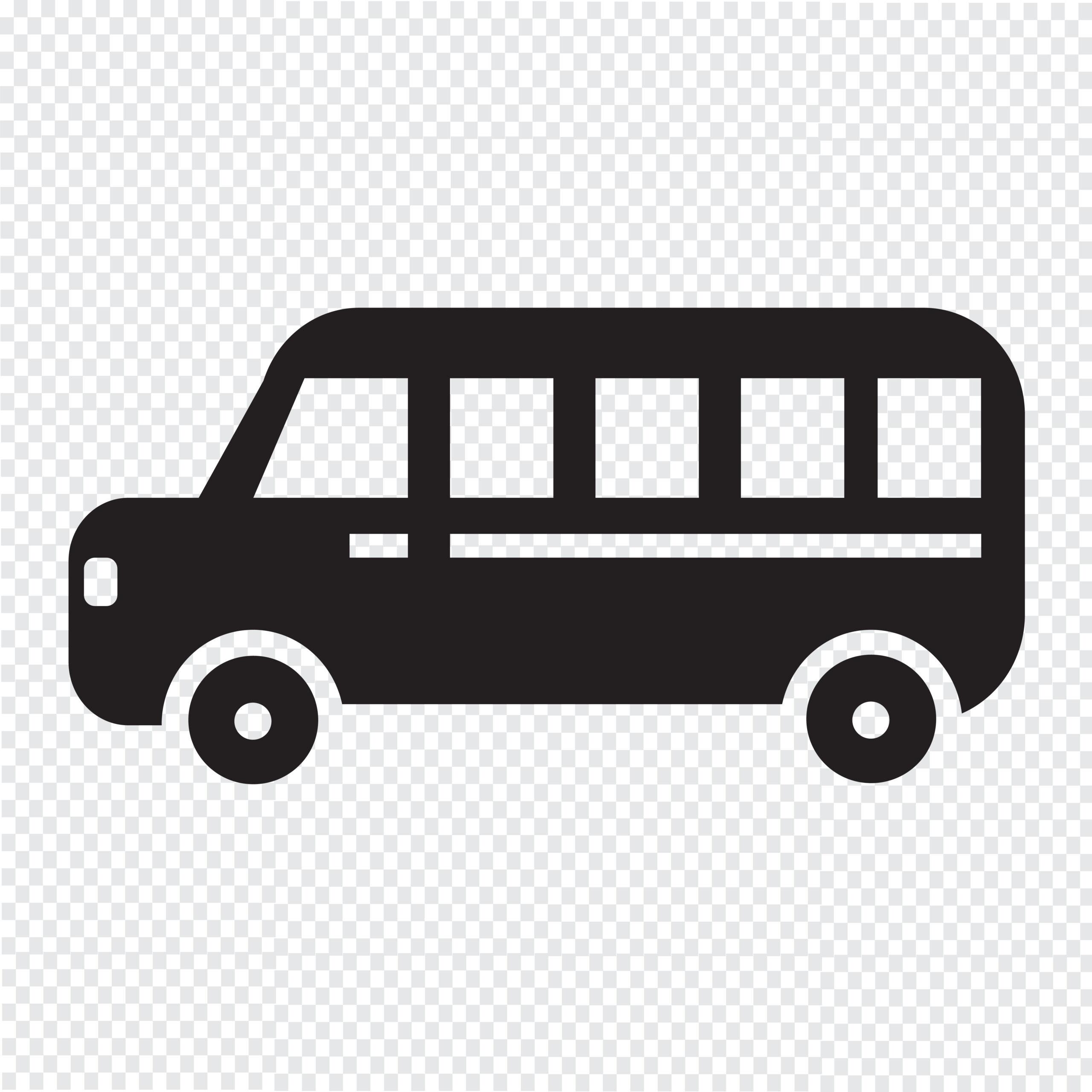 Naklejka na ścianę autobus