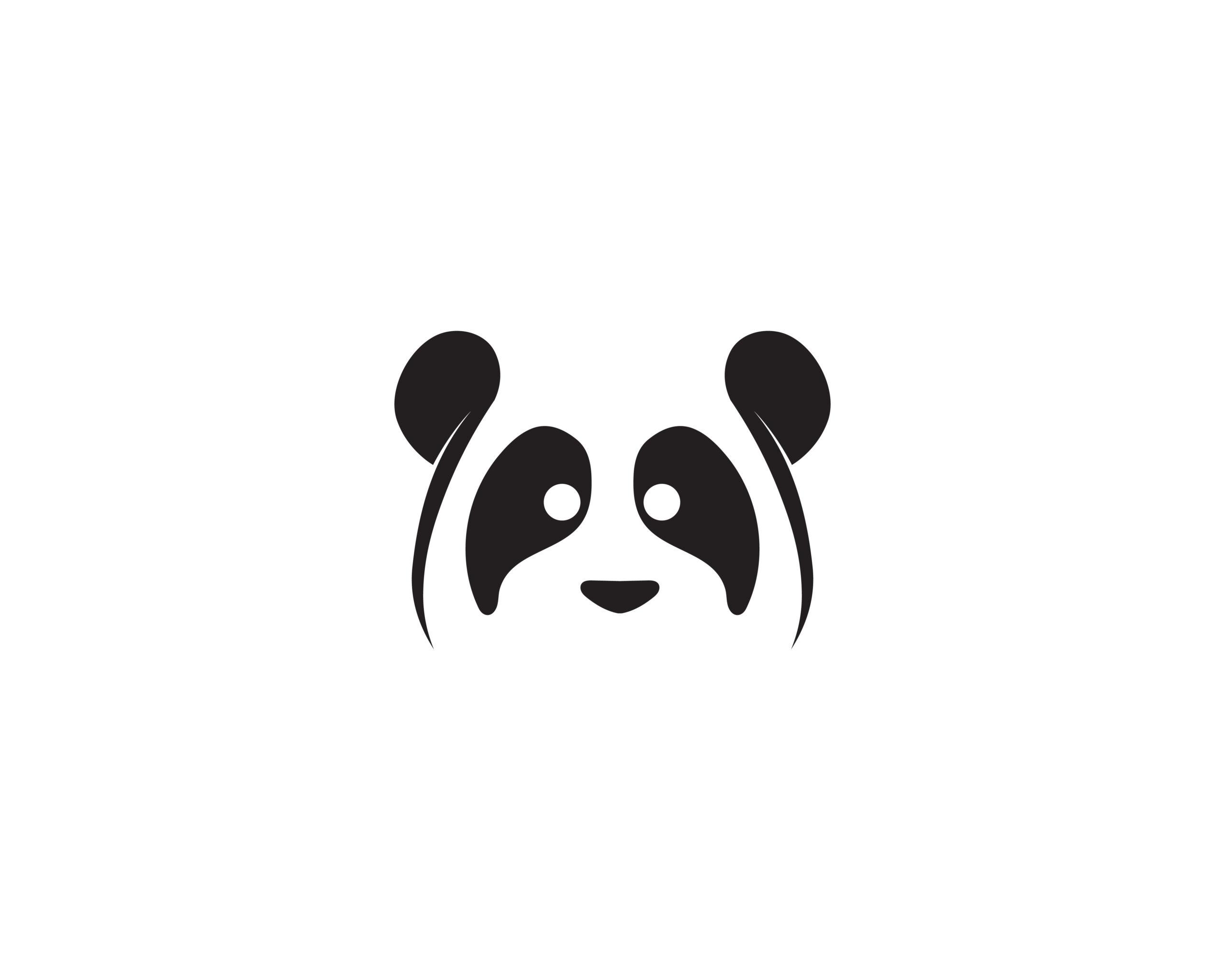 Naklejka na ścianę miś panda