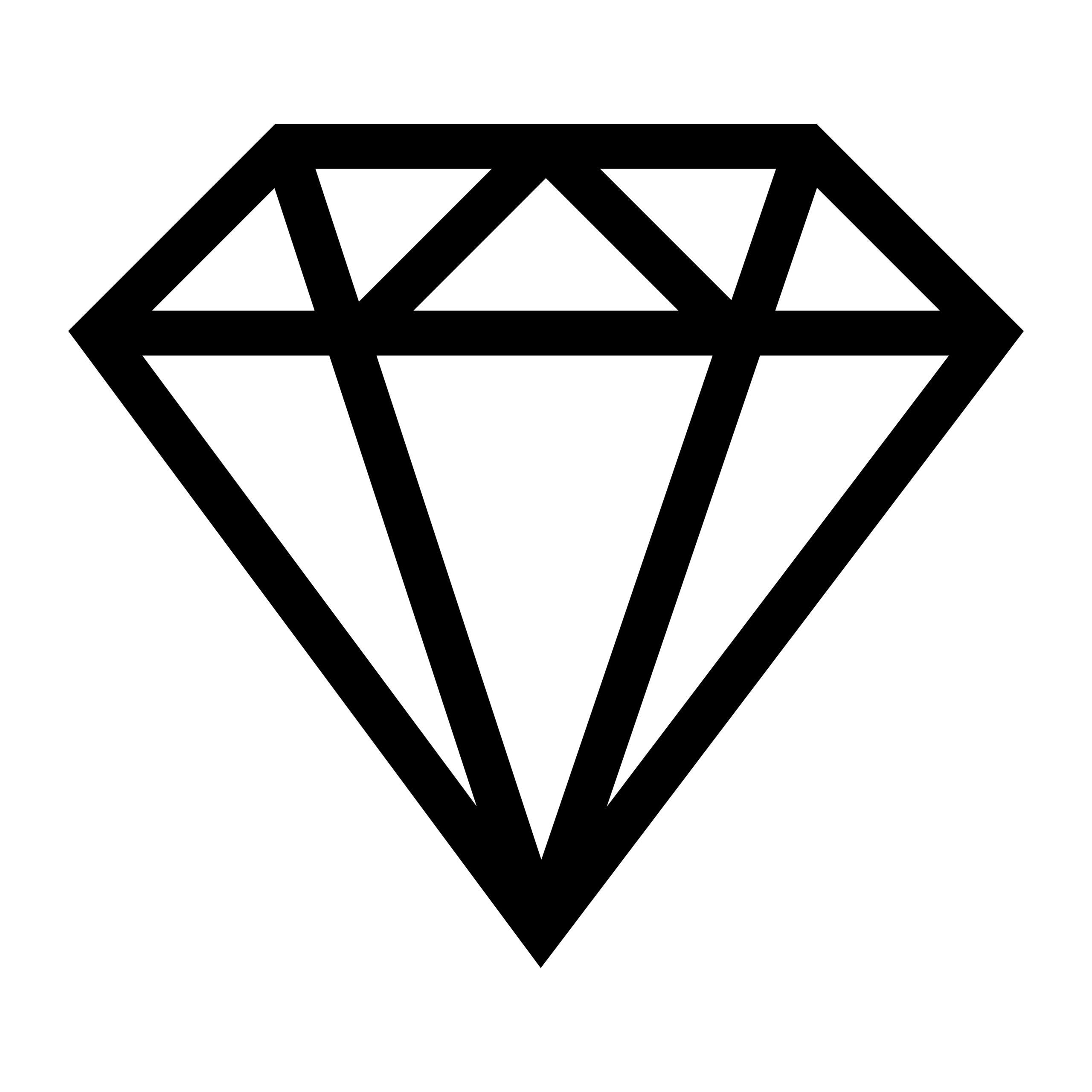 Naklejka na ścianę diament