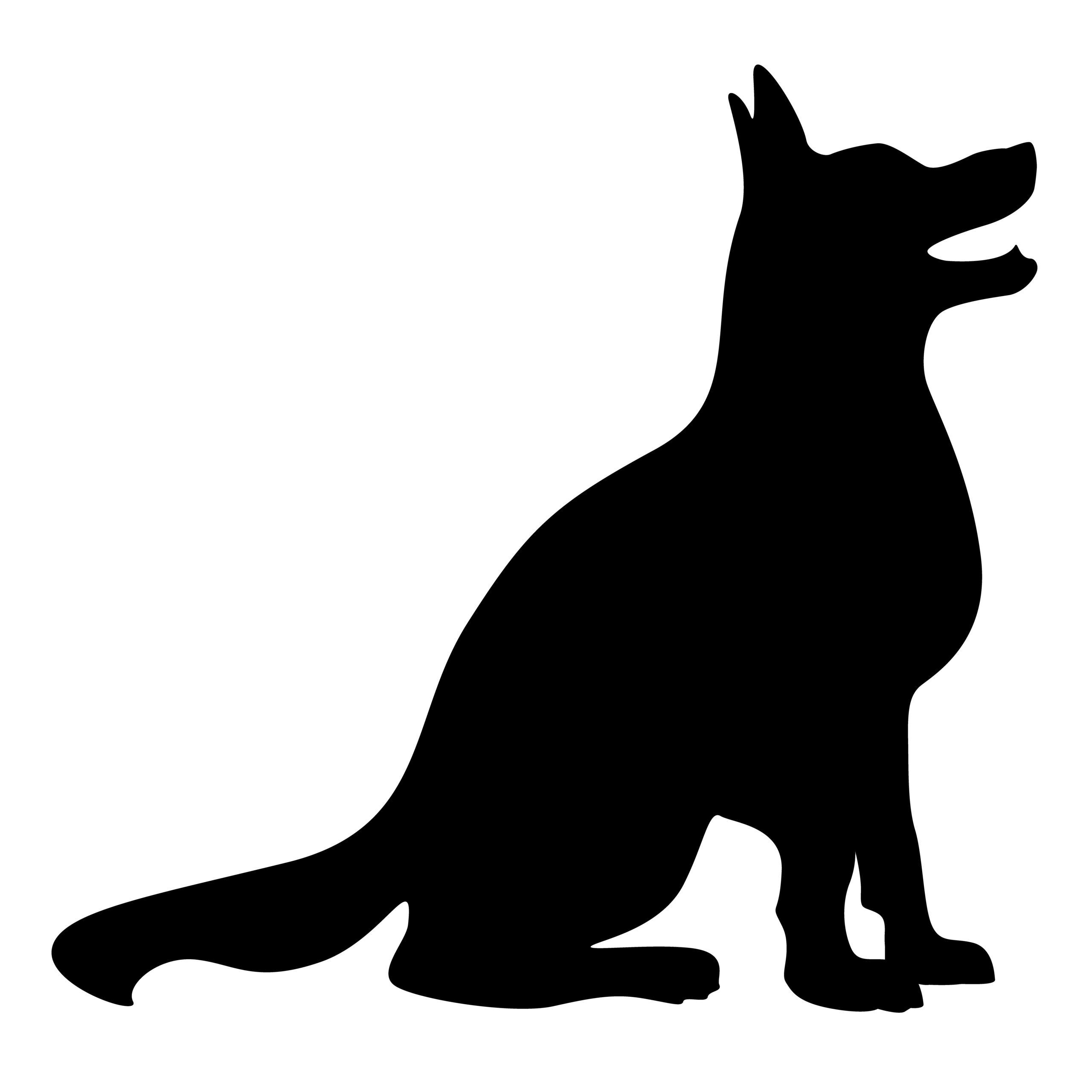 Naklejka na ścianę pies karmienie