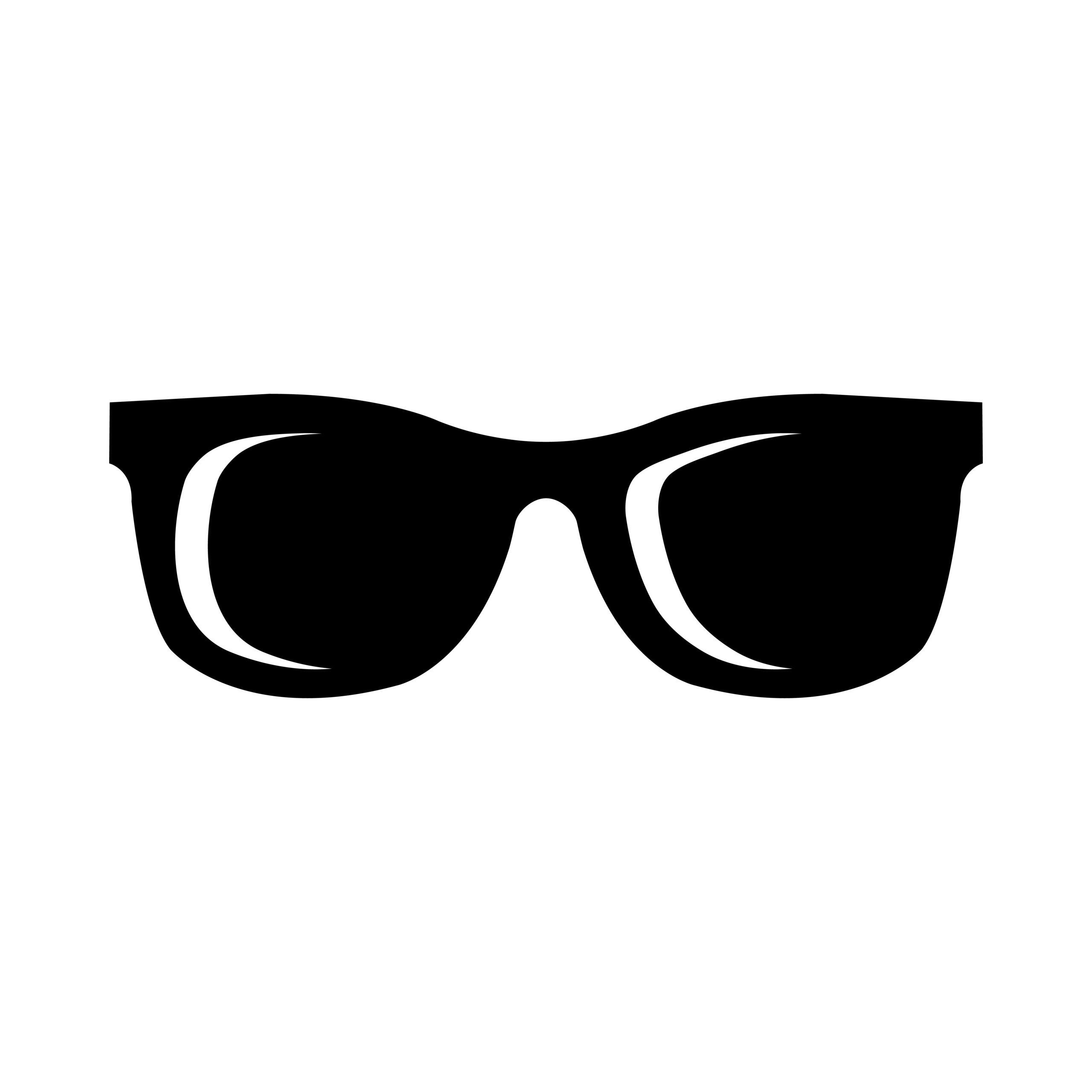 Naklejka na samochód okulary 5t