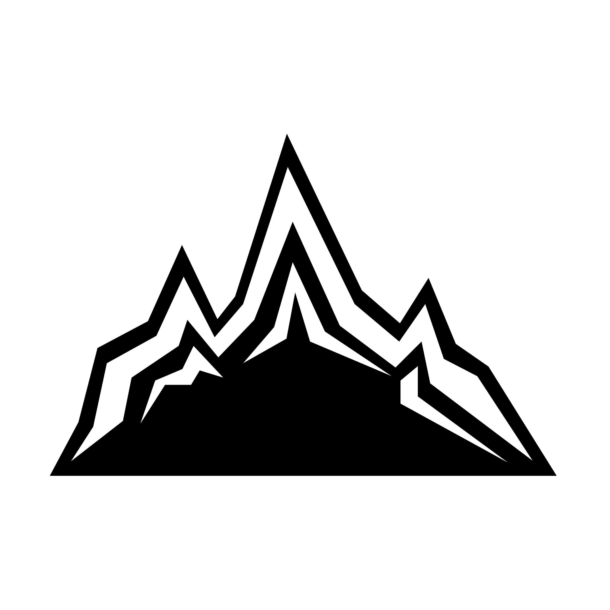 Naklejka na ścianę góry himalaje